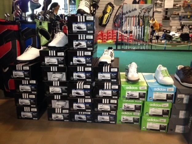 scarpe da golf negozio