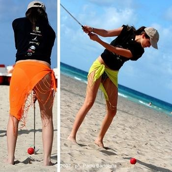 Foto: beach golf