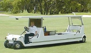 Golf Cart Limo