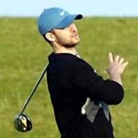 Justin Timberlake golf
