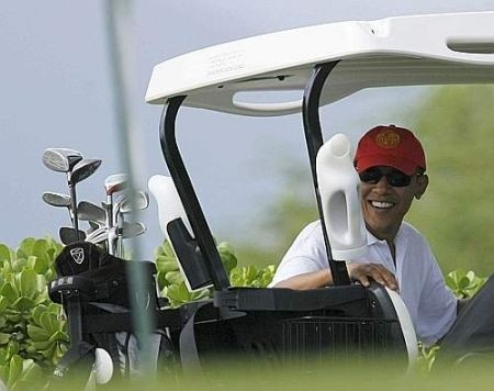 Barack Obama kart