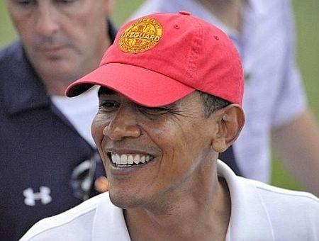 Barack Obama smile