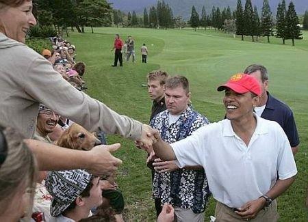 Barack Obama golf