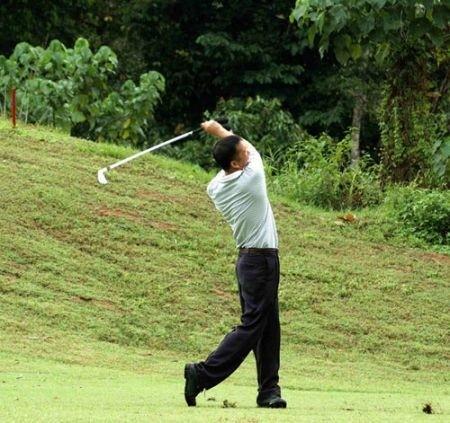 Golf Club Riva dei Tessali di Metaponto golfista