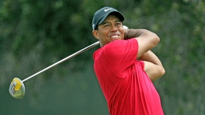 Tiger Woods drive