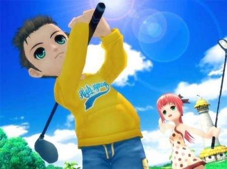 Foto: Pangya: Fantasy Golf per PSP