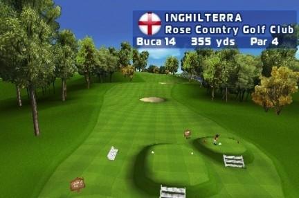 Let's Golf! percorso