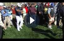 Regole del Golf: droppare dal maglione di uno spettatore